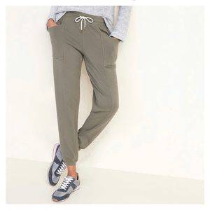 Mid-Rise French-Terry Utility Street Joggers L